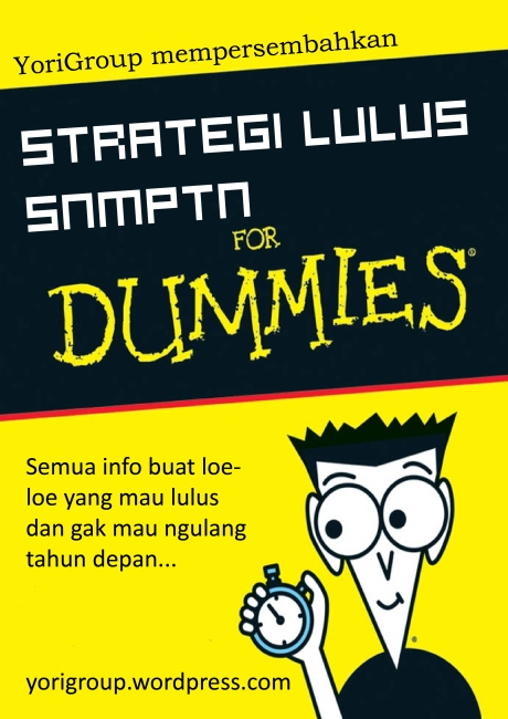 strategi-lulus-snmptn-2009-for-dummies-cover-screenshot
