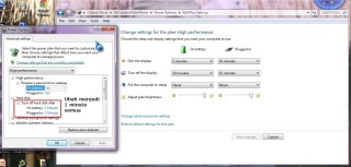 06 Save Changes untuk Power Plan High Performance