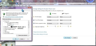 06 Save Changes untuk Power Plan Power Saver
