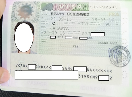VISA Schengen France 2015 crop censcored