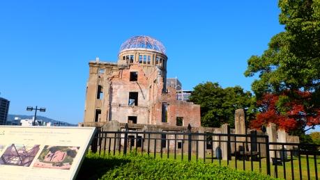 gedung yang selamat setelah bom atom dijatuhkan di Kota Hiroshima